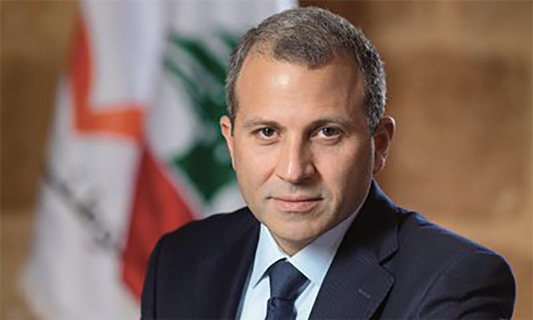 Le Ministre des Affaires Etrangères, Gébran Bassil