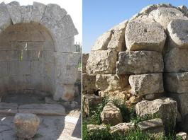 La chapelle dite de St Maroun de Brad en Syrie