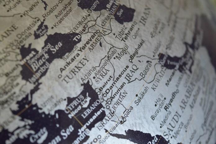 Carte de la Syrie, crédit photo: ErikaWittlieb , Pixabay