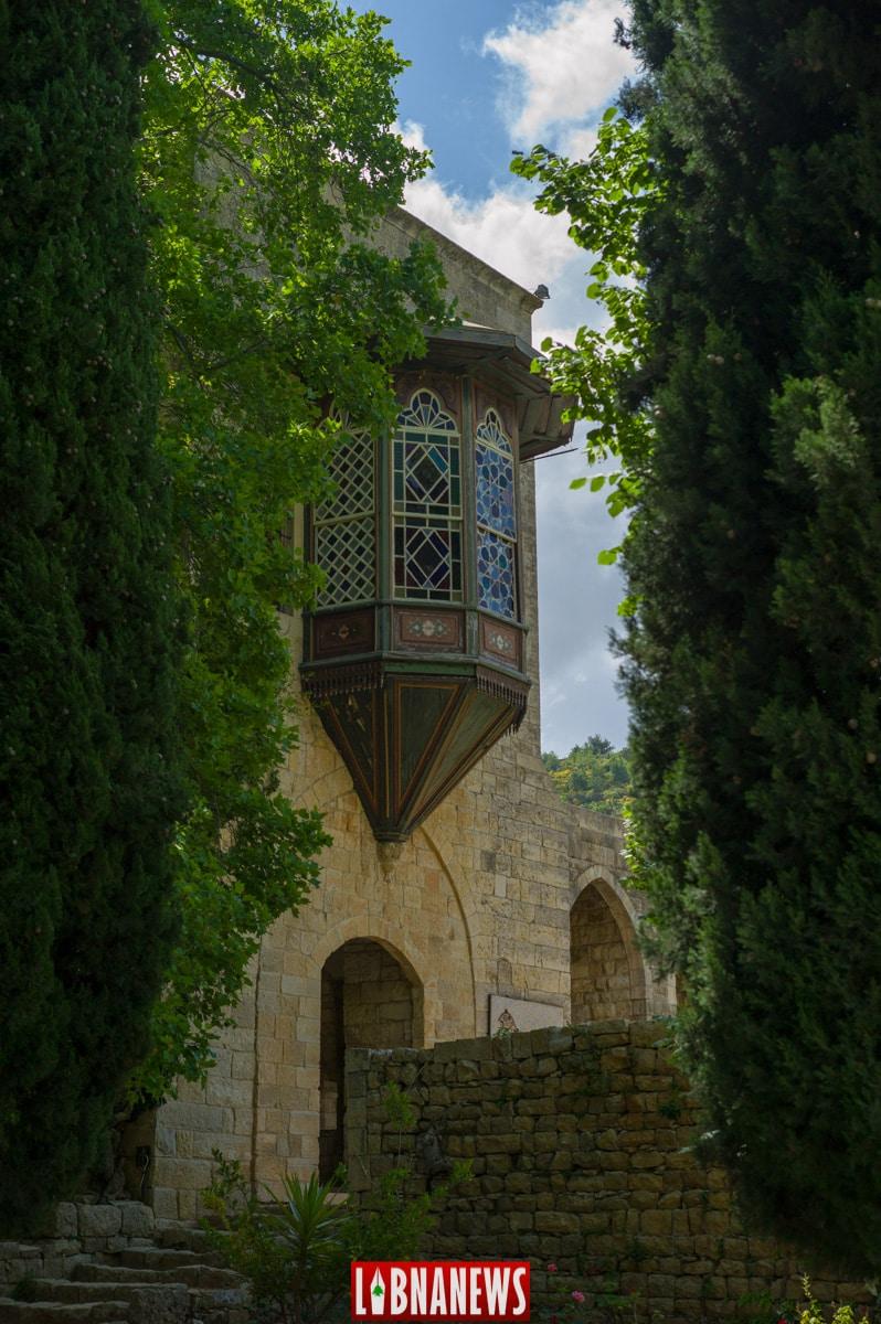 Le jardin du Palais de Beiteddine. Crédit Photo: François el Bacha pour Libnanews.com. Tous droits réservés.