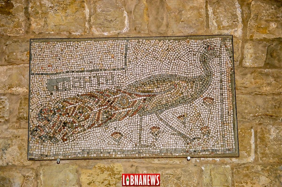 Les mosaïques byzantines des écuries. Crédit Photo: François el Bacha pour Libnanews.com. Tous droits réservés.