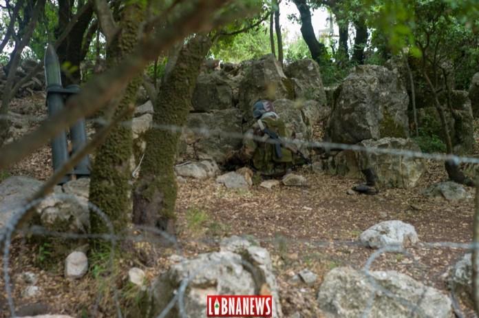 Des stimulations de positions du Hezbollah, Musée de Mlita. Crédit Photo: Libnanews.com