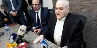 La conférence de presse du Ministre de la Santé, Jamil Jabak, le 24 février 2019. Source Photo: Ministère de la Santé.
