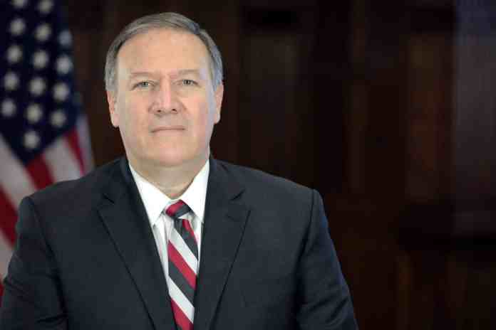 Le secrétaire d'état américaine Mike Pompeo. Source Image: Wikipedia