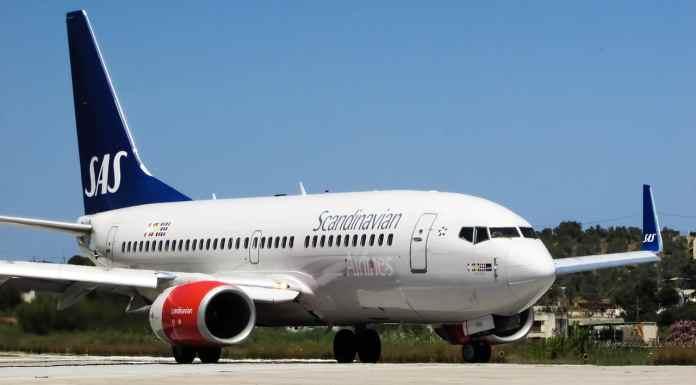 Un avion de Scandinavian Airlines (SAS). Source Photo: Pixabay.com