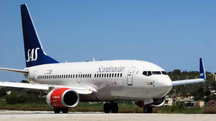 Un avion de Scandinavian Airlines (SAS). Source Photo: Pixabay.com