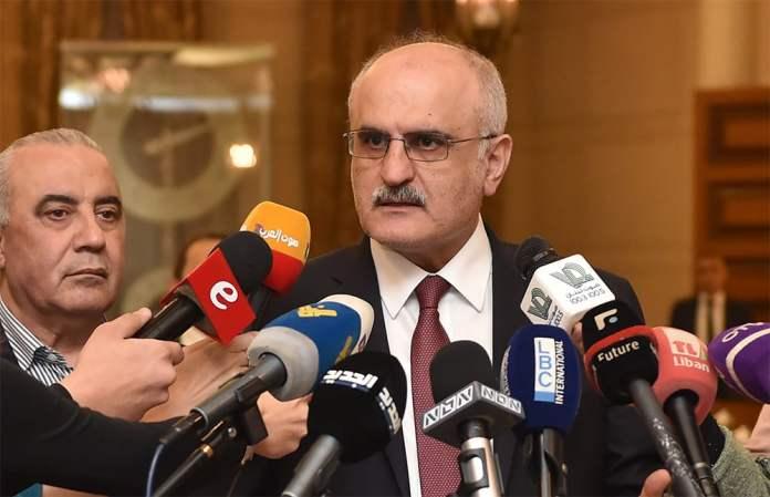 Le Ministre des Finances Ali Hassan Khalil au Parlement. Crédit Photo: Parlement Libanais