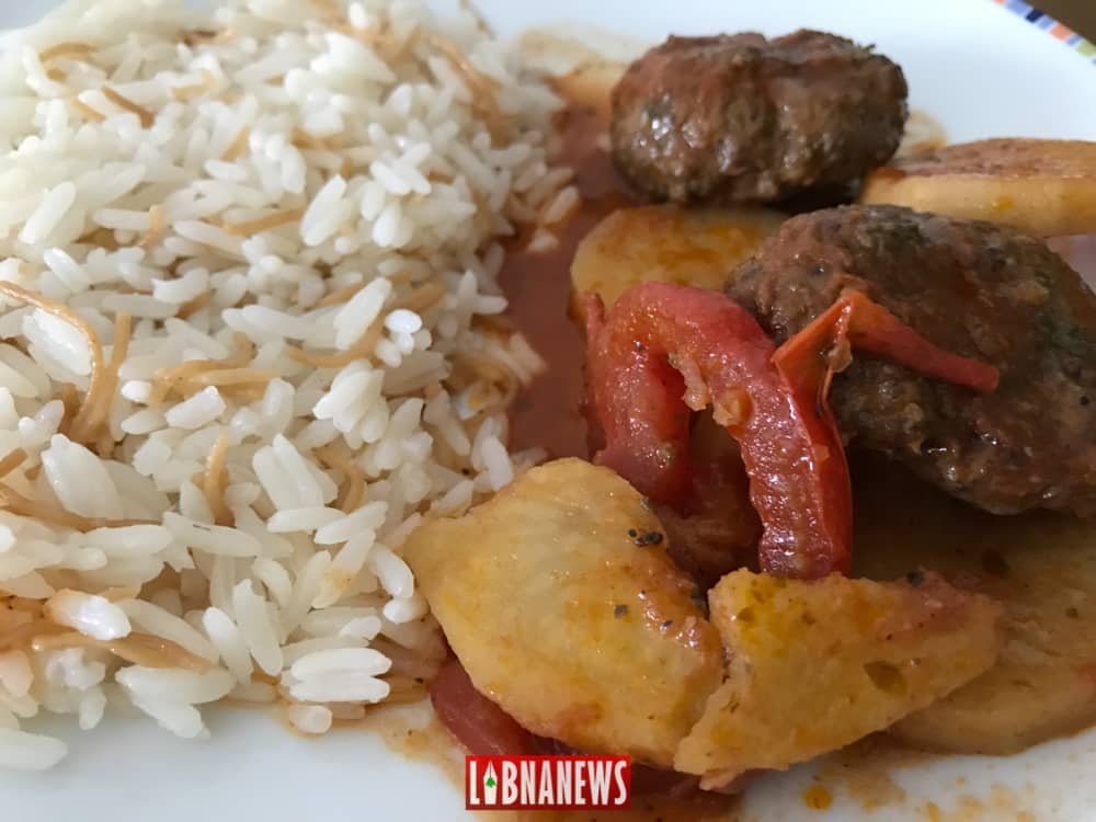 Le kafta bel saniye, une recette libanaise