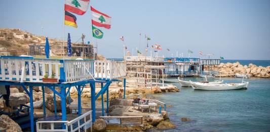 """La """"Petite Grèce"""" d'Enfeh. Crédit photo: François el Bacha pour Libnanews.com, tous droits réservés."""
