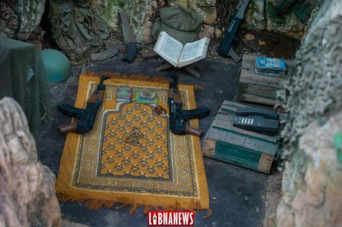 Position de l'ancien secrétaire général du Hezbollah Abbas Moussaoui, Musée de Mlita. Crédit Photo: Libnanews.com