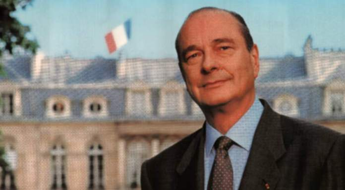 La photo officielle de Jacques Chirac.
