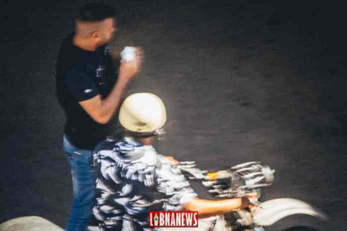 Un membre des Forces de Sécurité Intérieure à moto. Crédit Photo: Francois el Bacha pour Libnanews.com