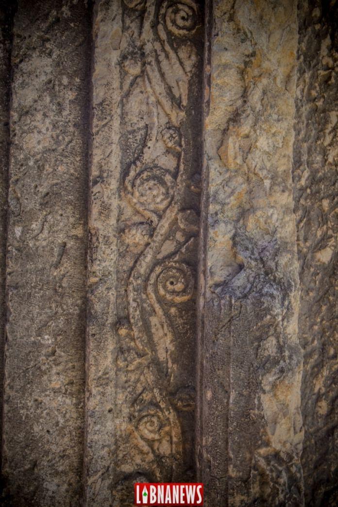 Le temple est d'Ein Akrine. Crédit Photo: François Bacha pour Libnanews.com