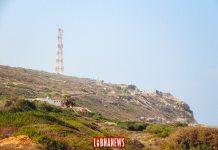 Poste frontière entre le Liban et Israël. Crédit Photo: François el Bacha pour Libnanews.com. Tous droits réservés