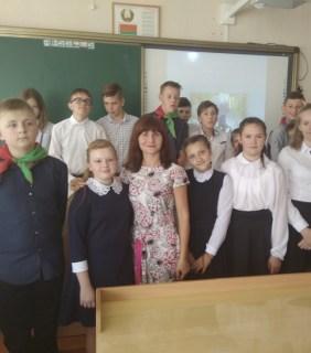 Занімай, Беларусь маладая мая, свой пачэсны пасад між народамі!