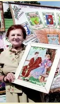 Лилия Радионовна Зарецкая – вышивальщица из Постав