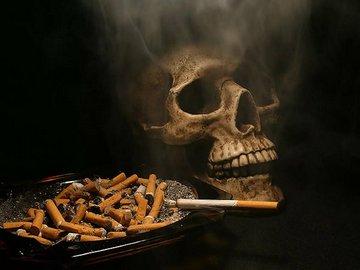 Сигарета делает хорошее дело, уводя людей в мир грёз