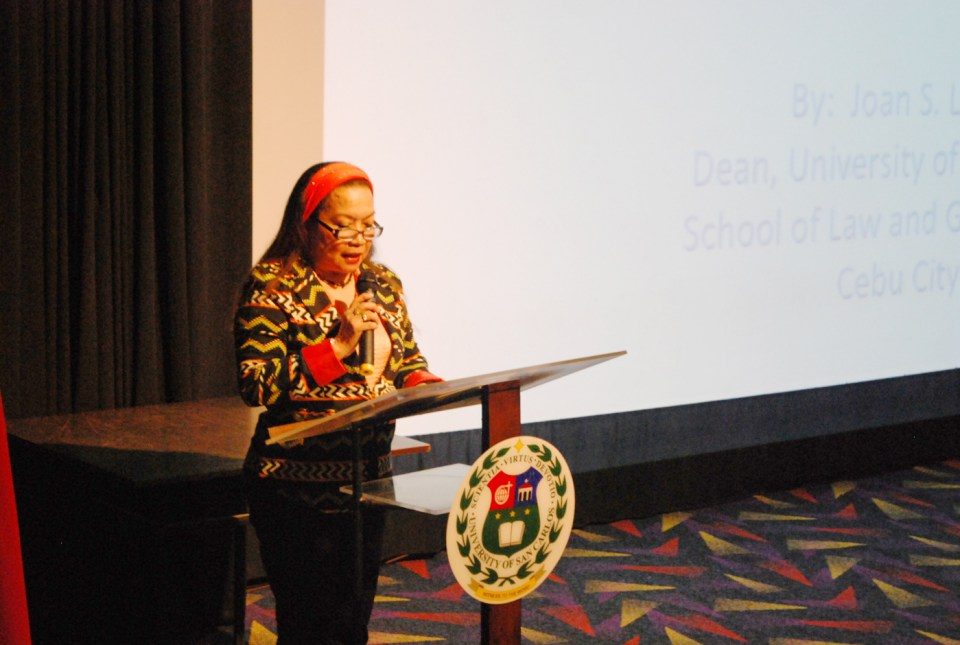 FLP President Evelyn Toledo-Dumdum