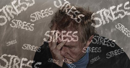 Picture of a man under stress