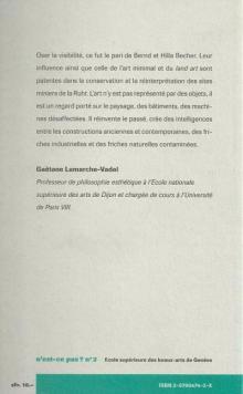 Gaëtane Lamarche-Vadel - HEAD