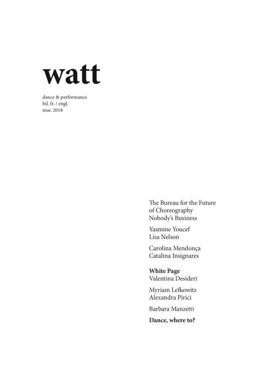 Revue Watt 2