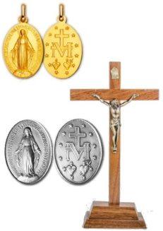 Médailles / Croix / Chapelets
