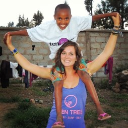Merry Christmas from the hope orphanage center in Arusha, Tanzania! Happy to be giving these kids some #swag