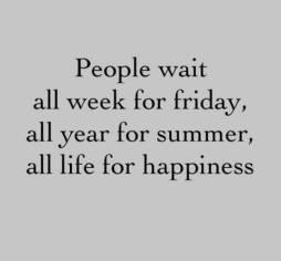 Ne pas attendre