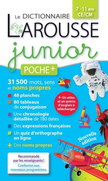 Dictionnaire Des Noms Propres En Ligne : dictionnaire, propres, ligne, Dictionnaire, Larousse, Junior, Poche, 9782035950345, Dictionnaires, Librairie, MARTIN