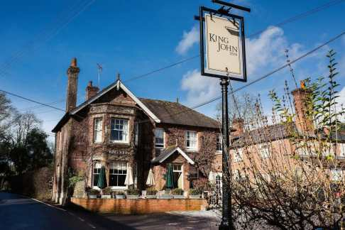 The King John Inn, Tollard Royal, Salisbury SP5 5PS