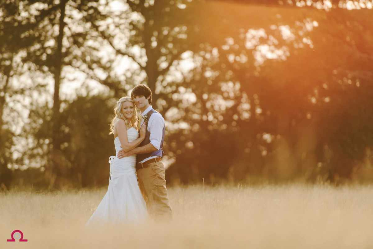 Summer meadow wedding
