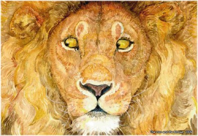 Jerry_Pinkney_lion_and_mouse