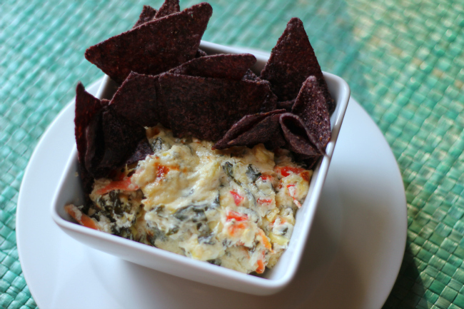 Best Ever Skinny Spinach Artichoke Dip Librarian Style