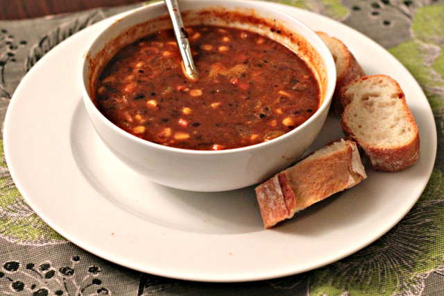 vegan-black-bean-soup recipe | librarian style