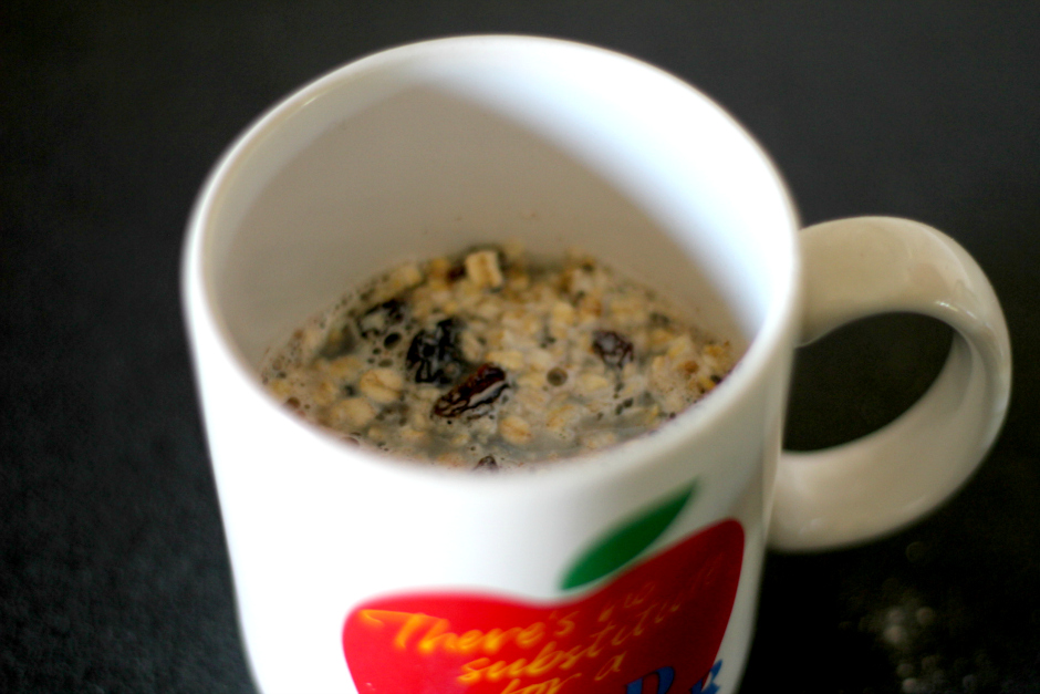 instant oatmeal from scratch