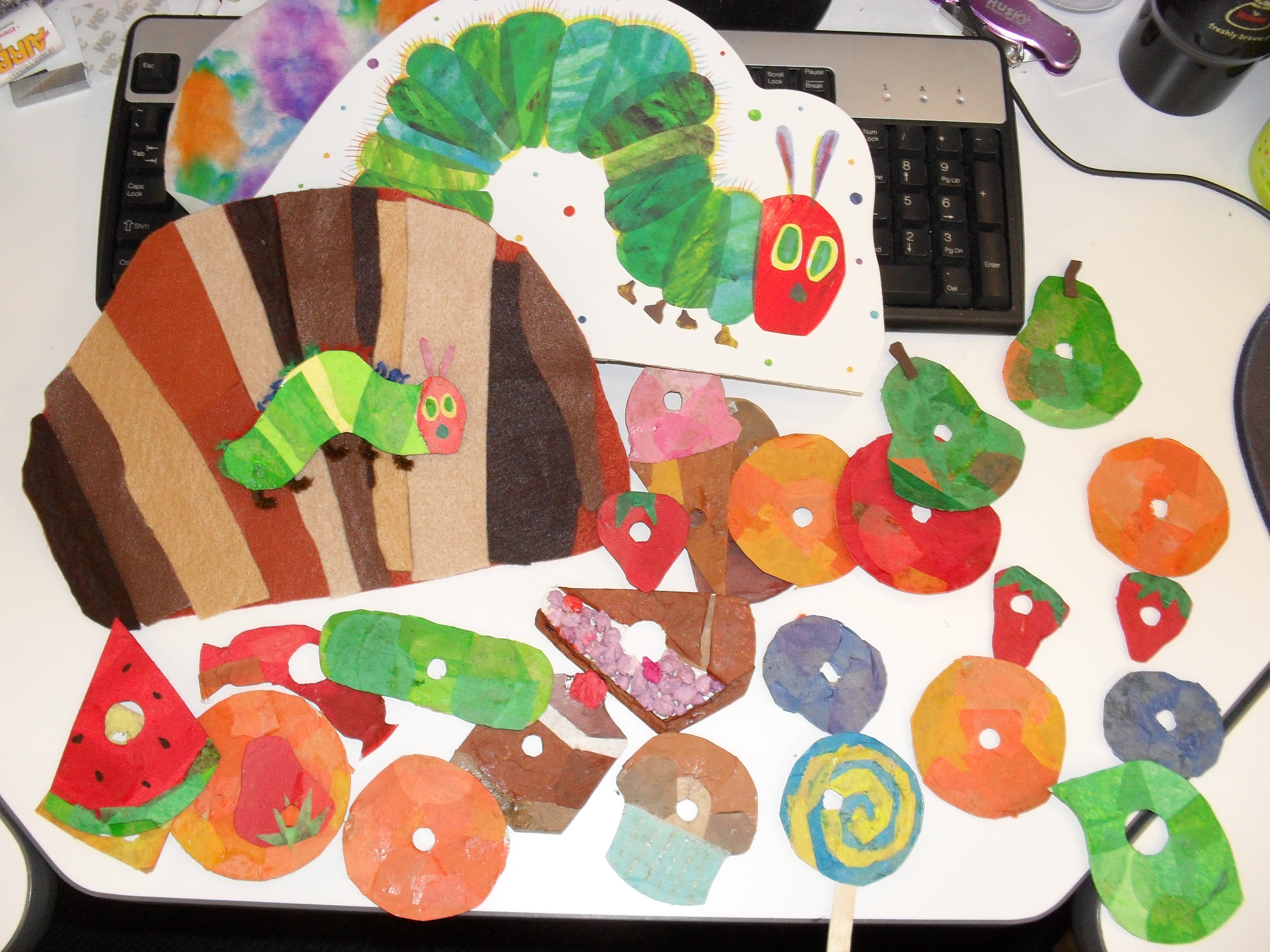 The Very Hungry Caterpillar Theme Pinterest