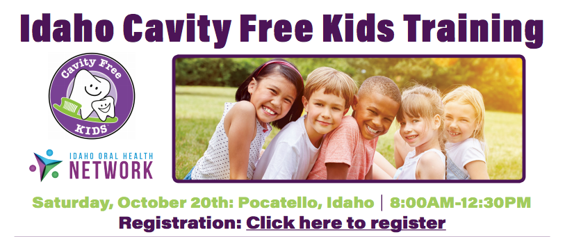 Idaho Cavity Free Kids Training