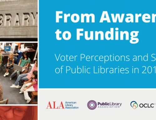 In Case You Missed It: Joint PLA/ALA/OCLC National Study Reveals Voter Perceptions of Libraries