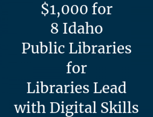 Libraries Lead with Digital Skills — $1,000 Funding Opportunity for Public Libraries