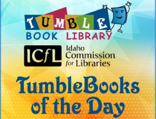 Updates to TumbleBooks of the Day!