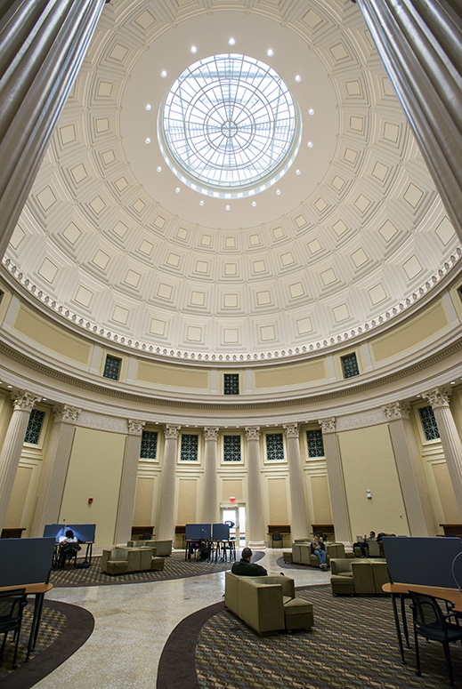 Study under the Dome 247 Barker reading room reopens as