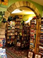 cozy bookstore