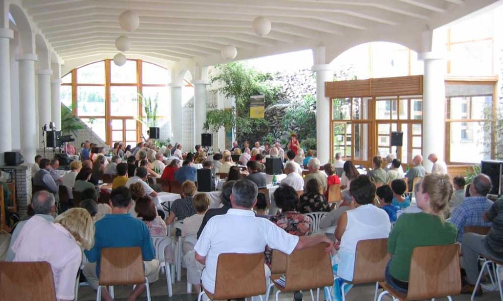 A tanácskozás helyszíne, a Tokaji ferenc Gimnázium