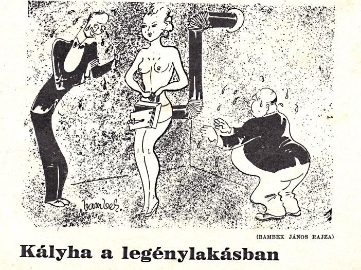 szex, Karikatúra az Új Magazinból
