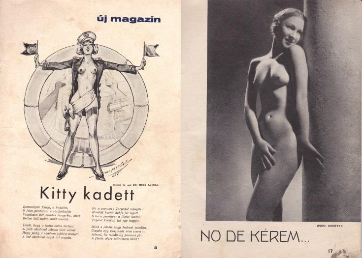 szex, Oldalak az Új Magazinból