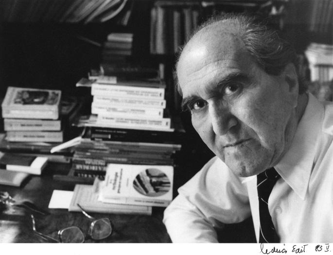 Szentkuthy Miklós 1983 májusában - Molnár Edit fényképén