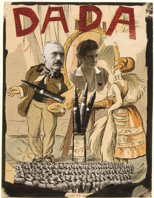 Blumenfeld, Erwin Dada, 1920