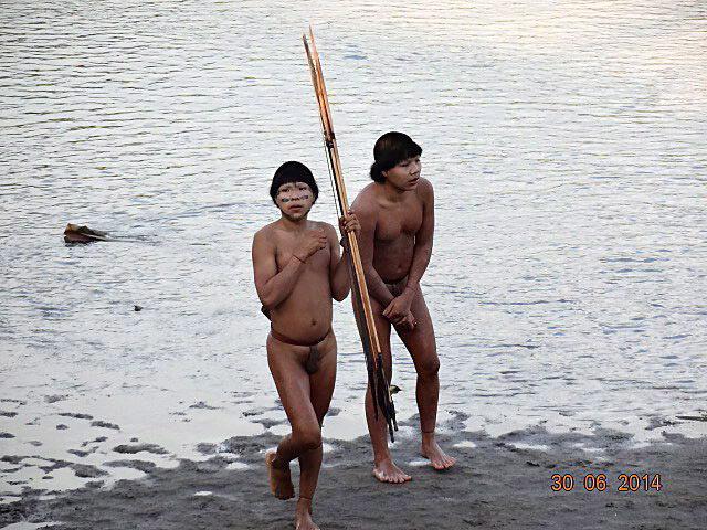 Elszigetelt brazil õslakosok