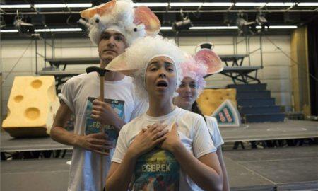 Szürke és fehér egerek vetélkednek a Nemzeti Színházban
