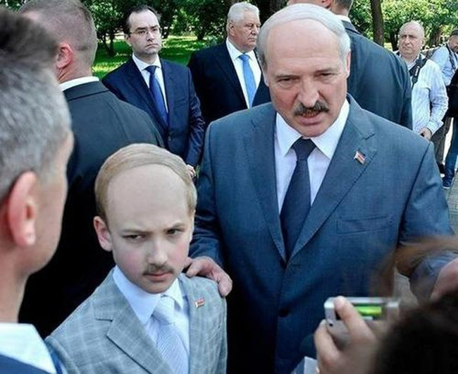 The President of Belarus and his mini-me